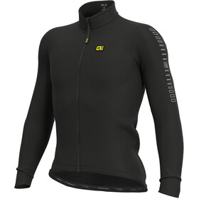 Alé Cycling Solid Fondo Maillot À Manches Longues Homme, black